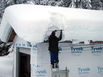Sloped Roof Snow Load